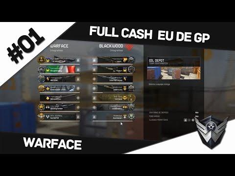 Warface: FULL CASH EU DE GP #01 / NOVOS JOGOS E SALVES TODO DIA