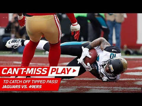 Video: Jaelen Strong Catches TD Off Tipped Pass vs. San Fran! | Can't-Miss Play | NFL Wk 16 Highlights