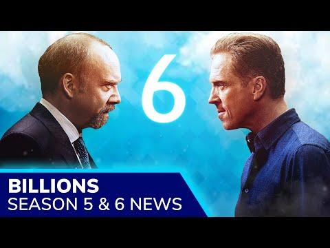 BILLIONS Season 6 Release – Late 2021, After Season 5 Part 2. Paul Giamatti & Damian Lewis Return