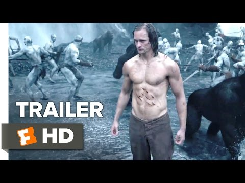 The Legend of Tarzan Official Trailer #1 (2016) - Alexander Skarsgård, Margot Robbie Movie HD