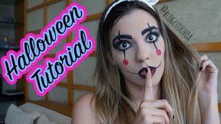 Tutorial de Halloween - Boneca Palhacinha
