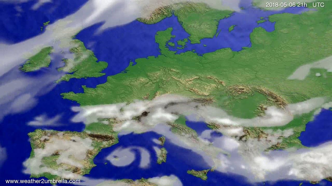 Cloud forecast Europe 2018-05-03