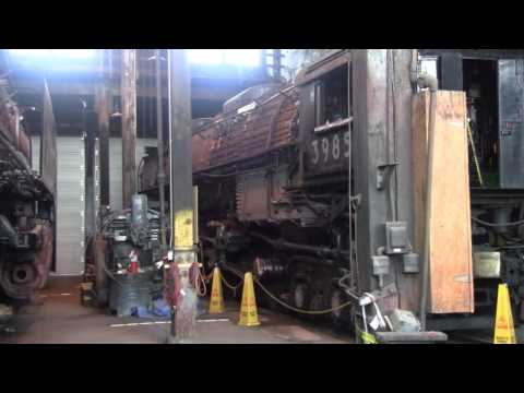 Union Pacific Roundhouse & 3985 News