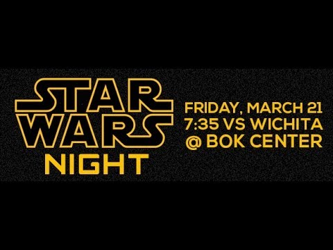 Tulsa Oilers - Star Wars Night - 03-21-14