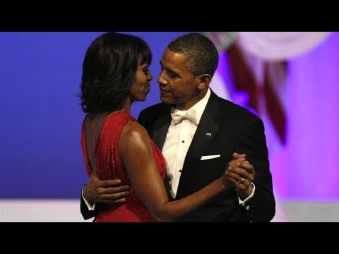 Barack, Michelle Obama Dance to Jennifer Hudson at Inaugural Ball – Video