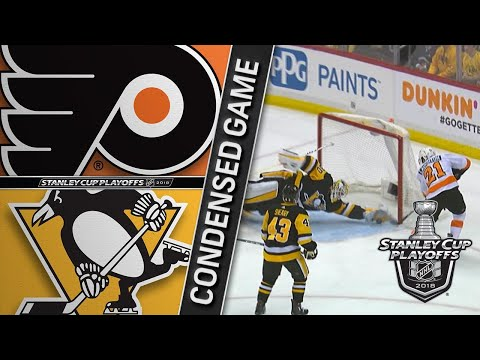 04/11/18 R1, Gm1: Flyers @ Penguins