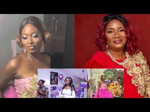 WATCH Yoruba Actress Adebimpe Oyebade Celebrates Her Mother's 60th Birthday, Congratulations