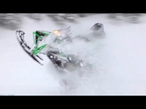 2013 Arctic Cat M1100 Turbo Snowmobile Review