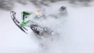 1. 2013 Arctic Cat M1100 Turbo Snowmobile Review