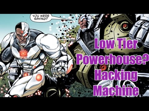 How Strong is Cyborg [ Victor Stone ] - New 52 / Post Crisis - Dc Comics