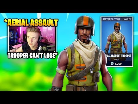 symfuhny dies spectates this rare aerial assault trooper skin fortnite daily funny moments - assault trooper fortnite combos