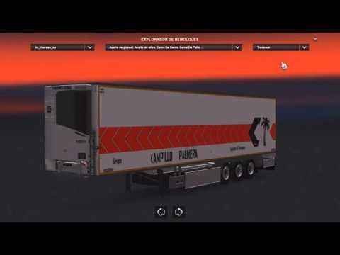 Spain trailer pack