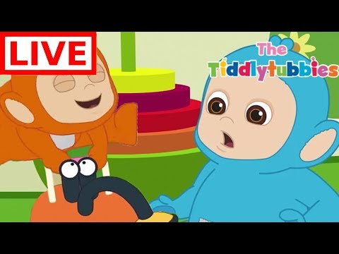 Teletubbies LIVE ★ NEW Tiddlytubbies 2D Series ★ Episodes 7-9 Tiddlytubbies Party★ Cartoon for Kids