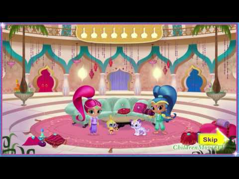 New Nick Jr. Game Shimmer and Shine Genie Palace Divine Full HD Video for Little Kids