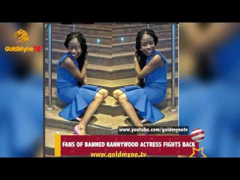 Fans Of Banned Kannywood Actress, Rahama Sadau Fight Back