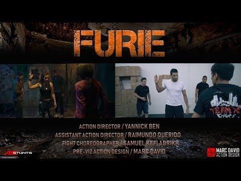 FURIE / Behind The Scene / Headquarter FIGHT / STUNT FIGHT SCENE