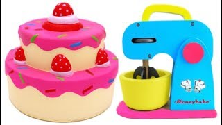 Video Squishy Strawberry Cake Learn Colors Play Doh and Microwave Playset for Children MP3, 3GP, MP4, WEBM, AVI, FLV Maret 2018