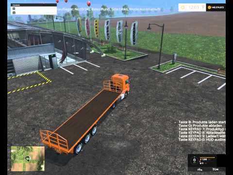 Fliegl bale transport trailers v1.0