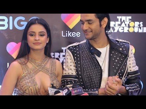 Vikas Gupta With Girlfriend Chetna Pande Exclusive Interview - First Digital Awards 2019