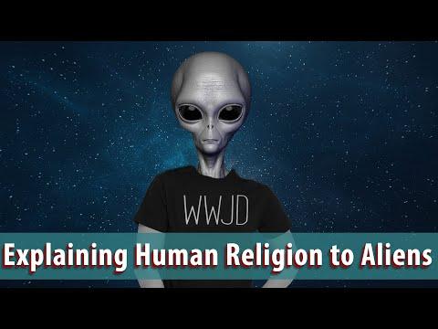 Explaining Humans to Aliens
