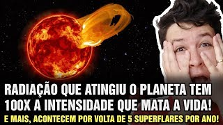 image of Exoplaneta Proxima b Foi Atingido por Superflare que Pode ter Eliminado a Vida (#804 - N. A.)