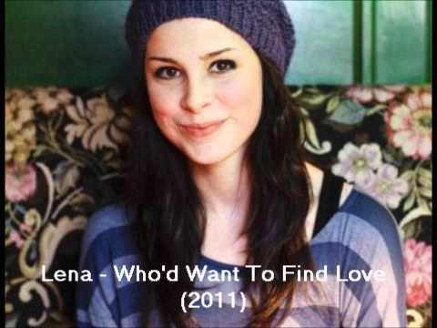 Tekst piosenki Lena Meyer-Landrut - Who'd to find Love po polsku