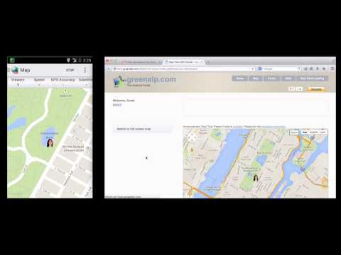 Video of Real-Time GPS Tracker 2 - RTT2