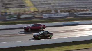 Nonton Fast Turbo Honda Del Sol Vs  Dodge Challenger Srt8   Drag Race Film Subtitle Indonesia Streaming Movie Download