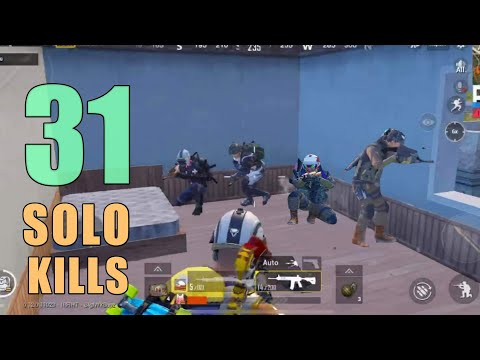 WHAT I DID SHOCKED THEM | 31 KILLS | SOLO SQUAD | PUBG Mobile