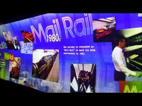 Mail Rail - Tour of Royal Mail's Underground Railway in London - July 2017