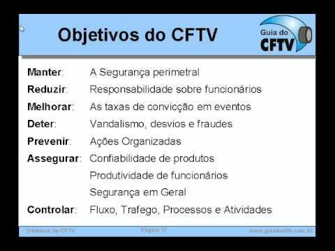 Treinamento CFTV - Parte 2 - Aplicações e Usos do CFTV