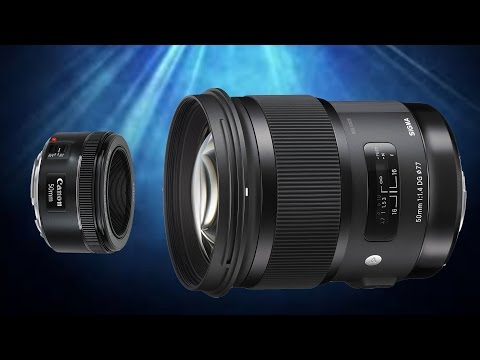 Canon 50mm f1.8 STM vs Sigma 50mm f1.4 ART - Is the Sigma WORTH the BIG PRICE Difference?