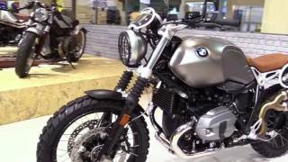 6. 2018 BMW R Ninet Scrambler Limited Special First Impression Lookaround Review