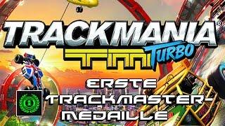 Erste Trackmaster-Medaille Warte, es gibt eine grüne?