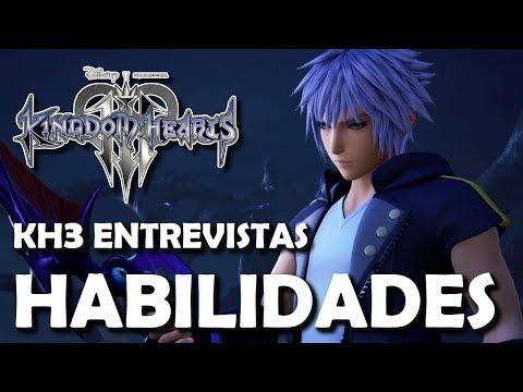 Video Kingdom Hearts 3 - Entrevista sobre el Sistema de Habilidades, Nexos y la Llave de Riku (Español) download in MP3, 3GP, MP4, WEBM, AVI, FLV January 2017