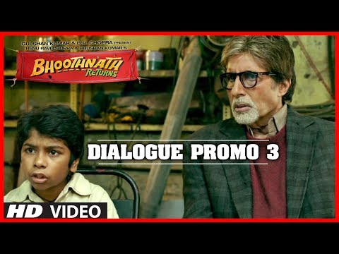 Koi Degree Nahi Chahiye!! Bhoothnath Returns Dialogue Promo | Amitabh Bachchan, Parth Bhalerao