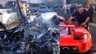 BEFORE&AFTER Paul Walker Accident Crash Video