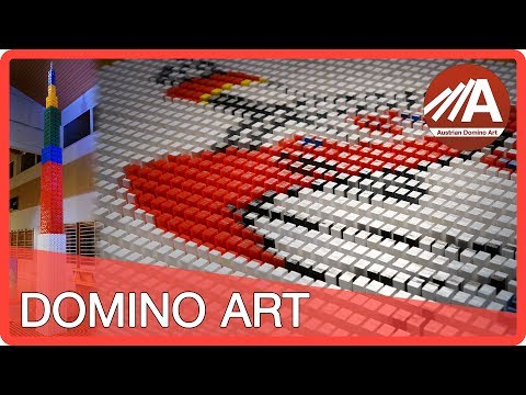 domino - 100000 Dominoes (Guinness World Record - Tallest Domino Structure) http://www.austriandominoart.com Hey everyone! We are an Austrian domino group and we set...