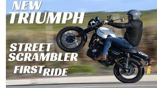 10. 2019 Triumph Street Scrambler First Ride, Better Than The Old One?