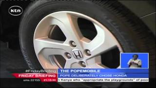 Popemobile: Why Pope Francis used a Honda during his African Tour