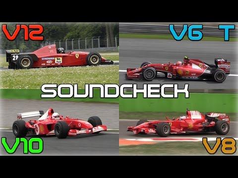 un brand (ferrari), una pista (monza) ecco le v6 turbo, v8, v10, v12!