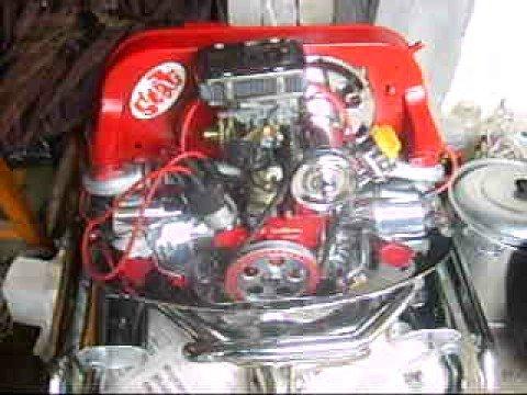 Mi Motor vw 1600 algo modificado por Omar Montiel (Monti Racing) y mis rines de 17 pulgadas
