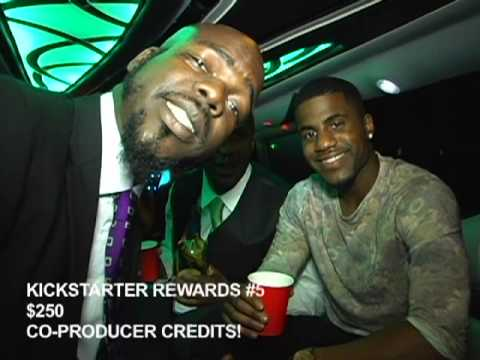 THE RHYME SHOW KICKSTARTER LAUNCH PARTY PART 2 - THE LIMO RIDE! 12/07/13 RED CARPET EVENT!