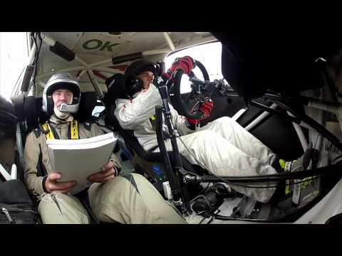 Vídeo: nos subimos al coche de Kangur, ganador de la Qualifying Stage del ERC Rallye de Estonia 2014