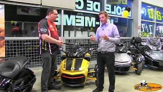 9. 2017 Can-Am Spyder F3-S Daytona 500