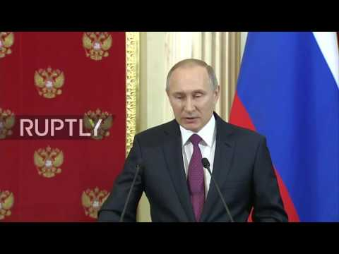 Russia: Vladimir Putin comments on Trump's 'dossier' and alleged ties to Russia