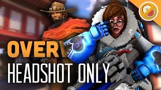 Overwatch 12 McCree/Mei HEADSHOTS ONLY! - Custom Game (Funny Moments)