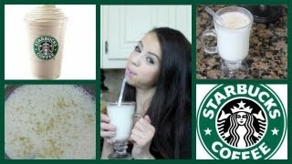 DIY! Starbucks Vanilla Bean!