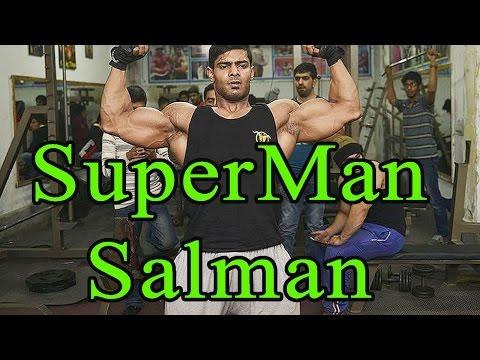 Salman Ahmed Body building