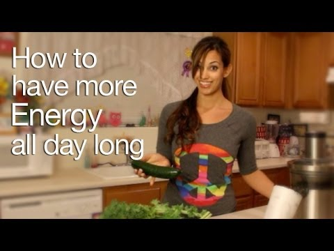 Green Juicing for Energy- Delicious green lemonade